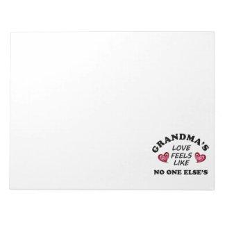 Grandma's Love Notepad