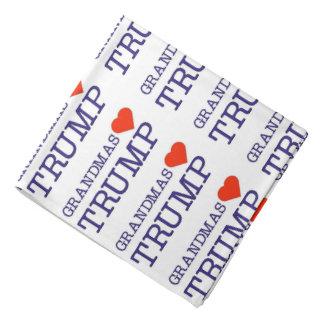 Grandmas Love Trump Bandana