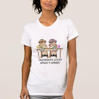 Grandma's Lucky Bingo t-shirt