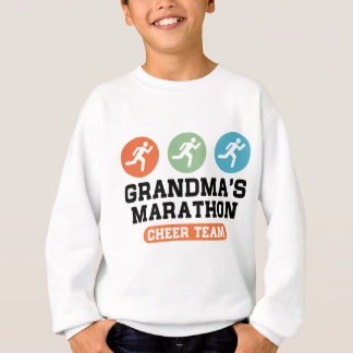 Grandma's Marathon Cheer Team Sweatshirt