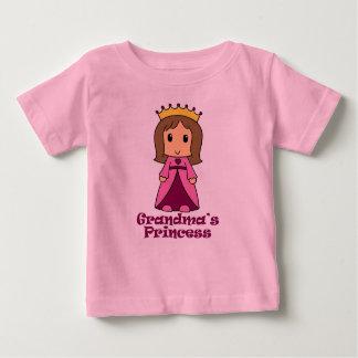Grandma's Princess Baby T-Shirt