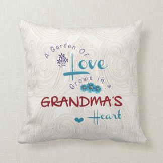 Grandma's Quote Throw Pillow
