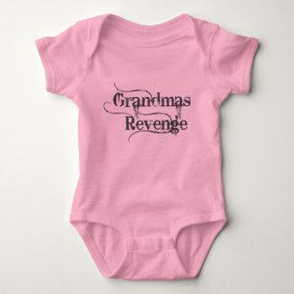 Grandmas Revenge Black Baby Bodysuit