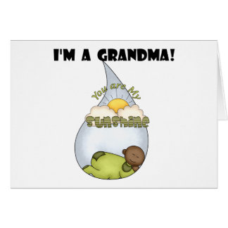Grandma's Sunshine-African American Boy Card