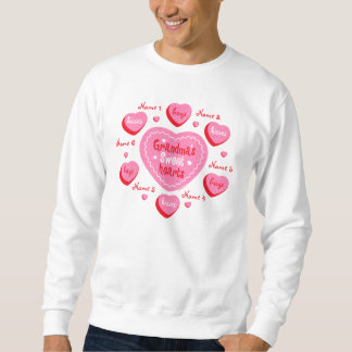 Grandma's Sweethearts Personalized Sweatshirt