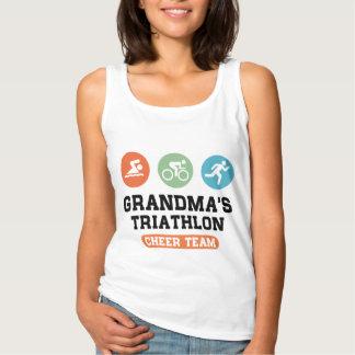 Grandma's Triathlon Cheer Team Singlet