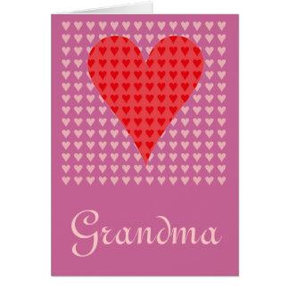 Grandma's Valentine Greeting Card