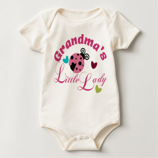Grandmas's Little Lady Baby Bodysuit