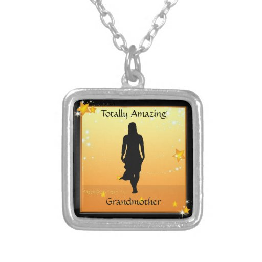 Grandmother Amazing Woman Necklace