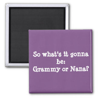 Grandmother Announcement Magnet
