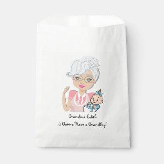 Grandmother Baby Shower Favor Bag