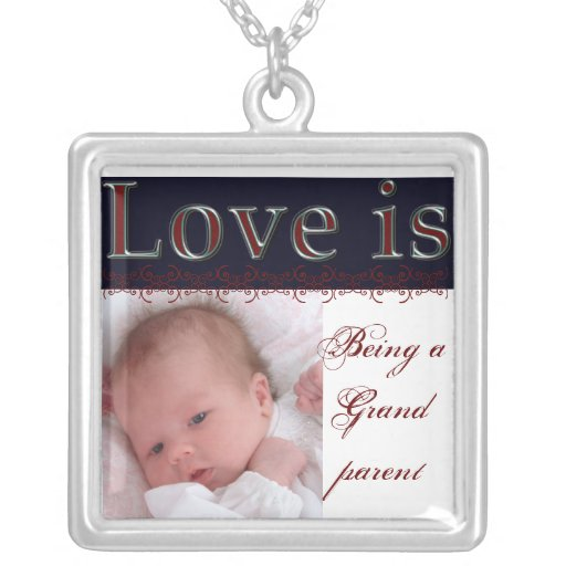 Grandmother gift- customizable necklace