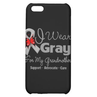 Grandmother - Gray Ribbon Awareness Cover For iPhone 5C