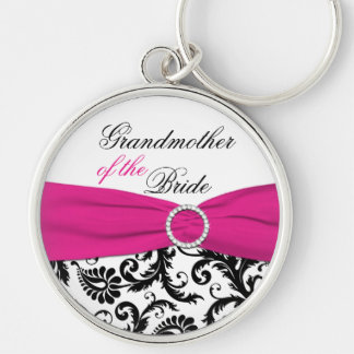Grandmother of the Bride Keychain