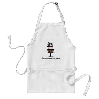 Grandmother of the Groom Cake Standard Apron