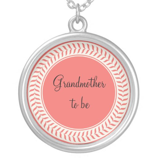 Grandmother to be Necklace