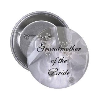 Grandmotherof theBride 6 Cm Round Badge