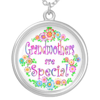 GRANDMOTHERS are Special Round Pendant Necklace