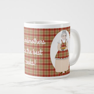 Grandmothers are the Best Cooks Large Coffee Mug