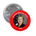 Grandmothers for Hillary 3 Cm Round Badge
