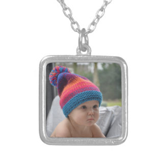 Grandmothers pictures silver plated necklace