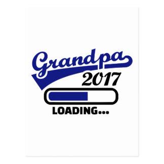 Grandpa 2017 postcard