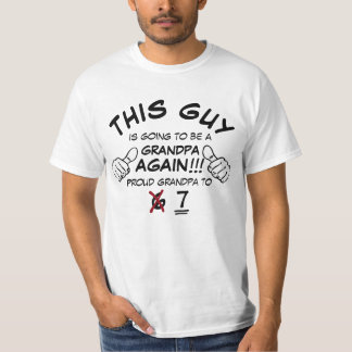 Grandpa Again (Update Kid Total) T-Shirt