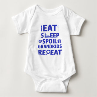 Grandpa and Grandma Baby Bodysuit