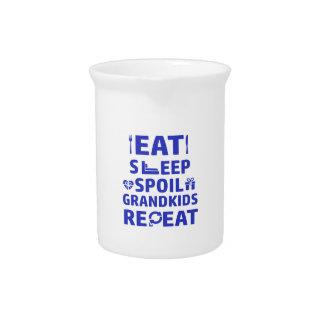 Grandpa and Grandma Pitcher