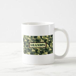 Grandpa Camo Coffee Mug