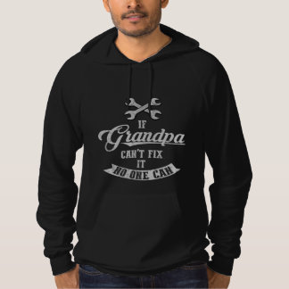 Grandpa Can Fix It Hoodie