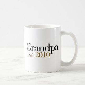 Grandpa Est 2010 Coffee Mugs