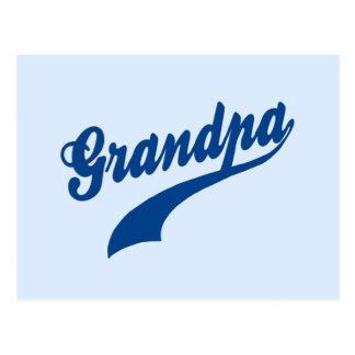 Grandpa Gift Postcard