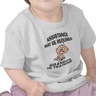 Grandpa In Training T-Shirt Shirt