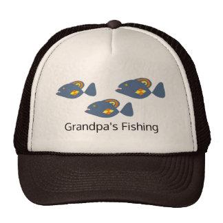 Grandpa is Fishing Cap