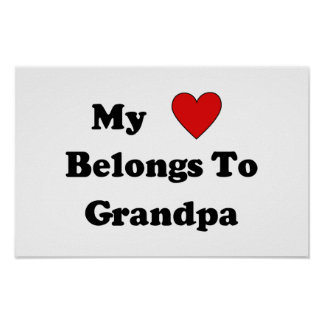 Grandpa Love Print
