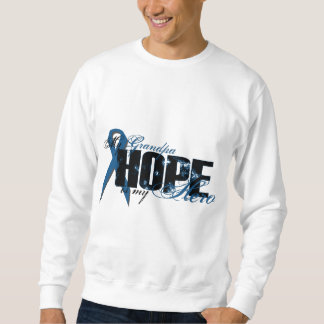 Grandpa My Hero - Colon Cancer Hope Sweatshirt