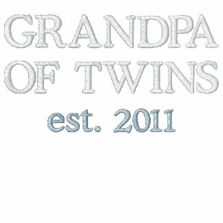 GRANDPA OF TWINS est 20XX Add Your Year Polo Shirt