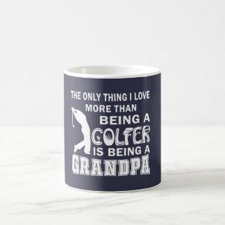 Grandpa Over Golf Basic White Mug