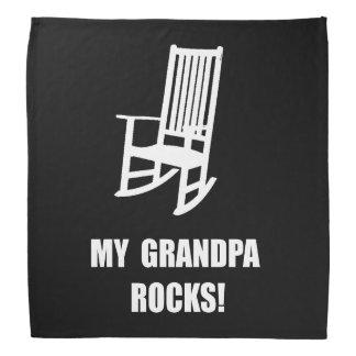 Grandpa Rocks Bandana