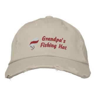 Grandpa s Fishing Hat Customizable Embroidered Hat