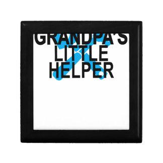 GRANDPA'S LITTLE HELPER . GIFT BOX