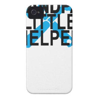 GRANDPA'S LITTLE HELPER . iPhone 4 Case-Mate CASES