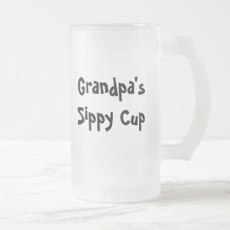 Grandpa s sippy cup mug