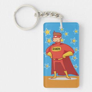 Grandpa Superhero, Grandparents Day Key Ring