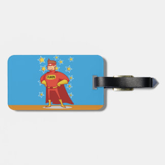 Grandpa Superhero, Grandparents Day Luggage Tag