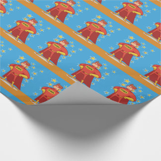 Grandpa Superhero, Grandparents Day Wrapping Paper