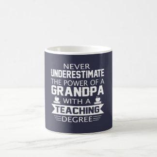 Grandpa Teacher Coffee Mug