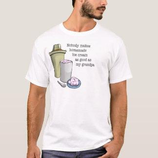 Grandpa the ice cream maker T-Shirt