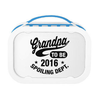 Grandpa To Be 2016 Lunch Box